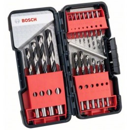 Sada vrtáků do kovu, 18-dílná, HSS PointTeQ ToughBox, Bosch, 2.608.577.350