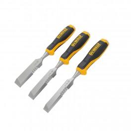 Sada dlát pro údery kladiva z boku, 3-dílná, 18, 25, 32 mm, DeWALT, DWHT0-16148