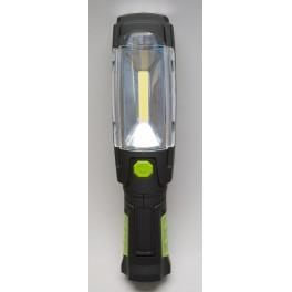 Nabíjecí svítilna LED P4518, 3W COB + 6x LED, Emos, EM-P4518
